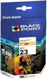 Black Point Tusz Black Point BPH23 | Color | 39 ml | 690 str. | HP C1823