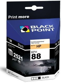 Black Point Tusz Black Point BPH88BK | Black | 69 ml | 2521 str. | HP C9396