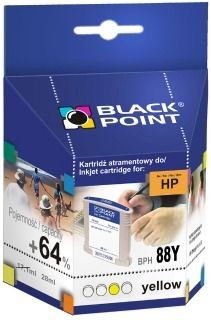 Black Point Tusz Black Point BPH88Y | Yellow | 28 ml | 2190 str. | HP C9393