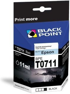 Black Point Tusz Black Point BPET0711 | Black | chip | 13ml | Epson T0711