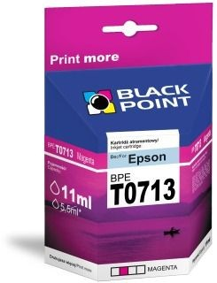 Black Point Tusz Black Point BPET0713 | Magenta | chip | 13 ml | Epson T0713