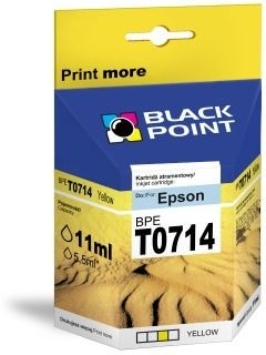 Black Point Tusz Black Point BPET0714 | Yellow | chip | 13 ml | Epson T0714