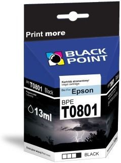 Black Point Tusz Black Point BPET0801 | Black | chip | 13 ml | Epson T0801