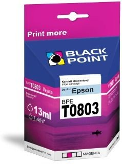 Black Point Tusz Black Point BPET0803 | Magenta | chip | 13 ml | Epson T0803