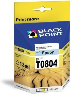 Black Point Tusz Black Point BPET0804 | Yellow | chip | 13ml | Epson T0804