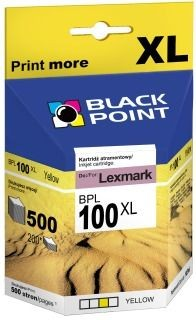 Black Point Tusz Black Point BPL100YXL | Yellow | 10,5 ml | Lexmark 14N0902E