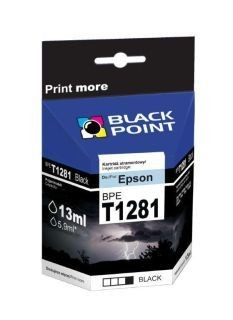 Black Point Tusz Black Point BPET1281 | Black | 13ml | Epson T1281