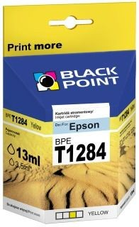 Black Point Tusz Black Point BPET1284 | Yellow | 13 ml | Epson T1284