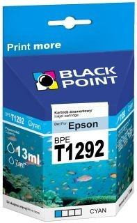 Black Point Tusz Black Point BPET1292 | Cyan | 13 ml | Epson T1292