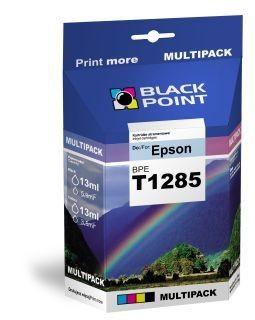 Black Point Tusz Black Point BPET01285 | CMYK | 4*13 ml | Epson T01285