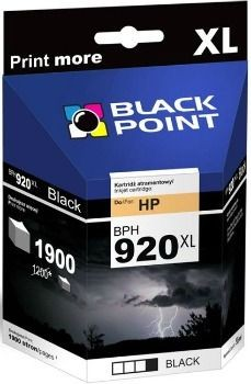 Black Point Tusz Black Point BPH920XL | Black | 49 ml | 1900 str. | HP CD975AE