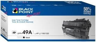Black Point Toner Black Point LBPPH49A | Black | 3700 str. | HP Q5949A