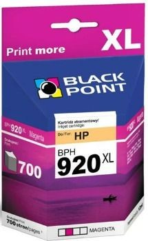 Black Point Tusz Black Point BPH920XL | Magenta | 12 ml | 700 str. | HP CD973AE