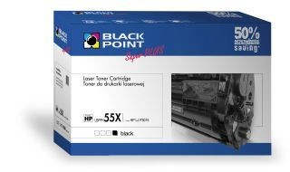 Black Point Toner Black Point LBPPH55X | Black | 18500 str. | HP CE255X