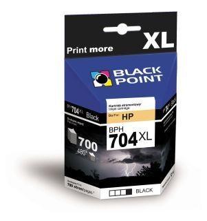 Black Point Tusz Black Point BPH704XL   Black   12 ml   700 str.   HP CN692AE