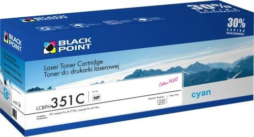 Black Point Toner Black Point LCBPH351C | cyan | 1350 str. | HP CF351A
