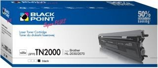 Black Point Toner Black Point LBPPBTN2000 | Black | 3000 str. | Brother TN2000