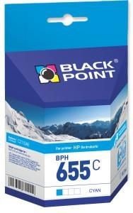 Black Point Tusz Black Point BPH655C | cyan | 10,5 ml | HP CZ110AE