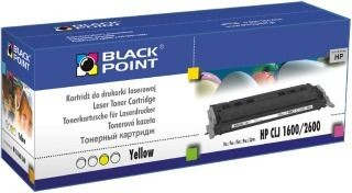 Black Point Toner Black Point LCBPH1600Y | Yellow | 2000 str. | HP Q6002A