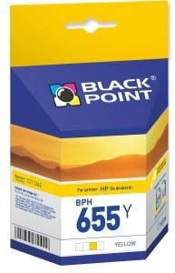 Black Point Tusz Black Point BPH655Y | yellow | 10,5 ml | HP CZ112AE