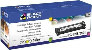 Black Point Toner Black Point LCBPHCP1215Y | Yellow | 1400 str. | HP CB542A