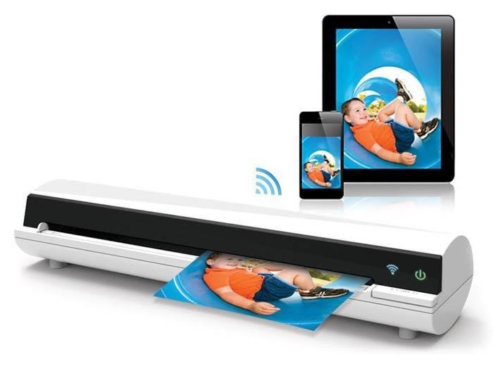 Mustek Skaner przenośny z WiFi iScan Air A4/color/600dpi/WiFi