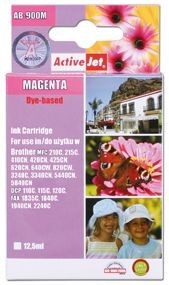 ActiveJet Tusz ActiveJet AB-900MN | Magenta | 17,5 ml | Brother LC900M