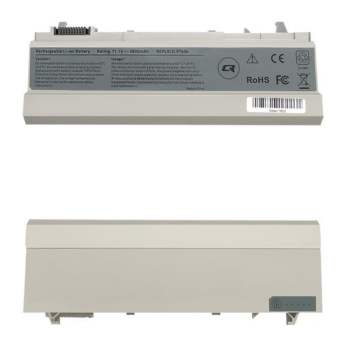Qoltec Bateria do laptopa Long Life - Dell E6400 E6500 | 6600mAh | 11.1V