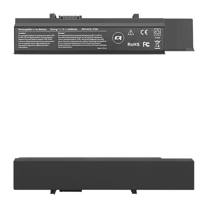 Qoltec Bateria do laptopa Long Life Dell Vostro 3500 | 10.8-11.1V | 4400mAh