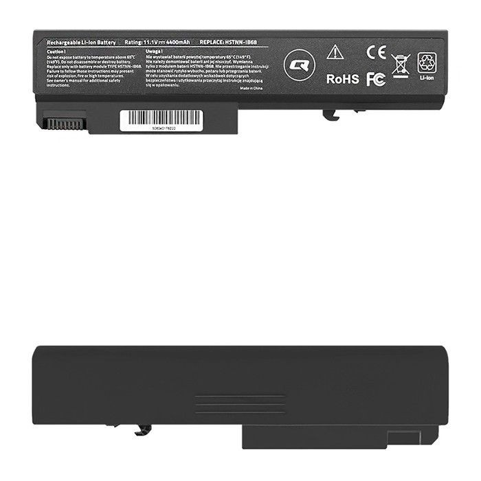 Qoltec Bateria do laptopa Long Life HP EliteBook 6930p | 10.8-11.1V | 4400mAh