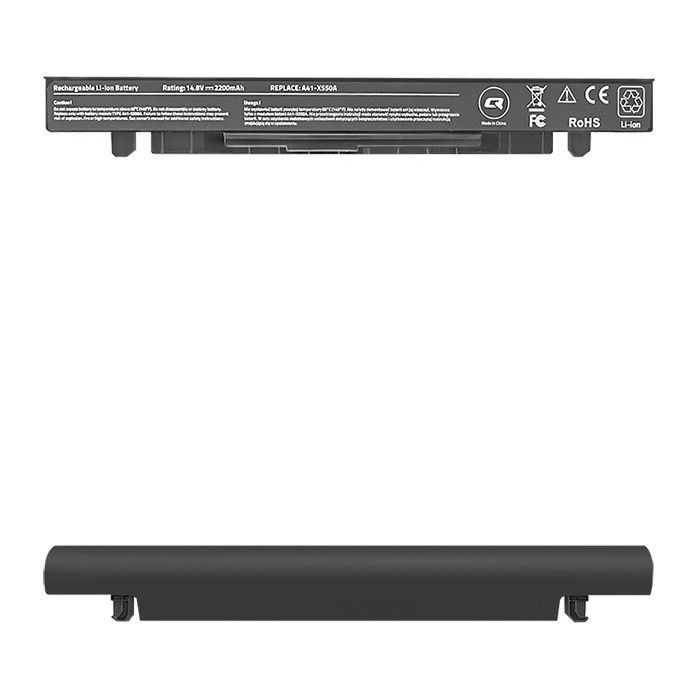 Qoltec Bateria do laptopa Long Life - Asus X550 | 2200mAh | 14.8V