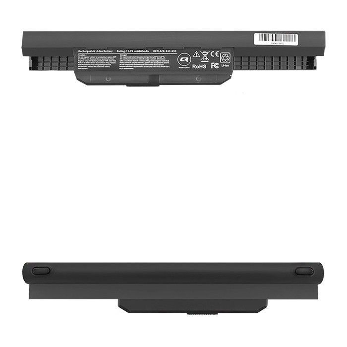 Qoltec Bateria do laptopa Long Life Asus K53S X53S | 10.8-11.1V | 6600mAh