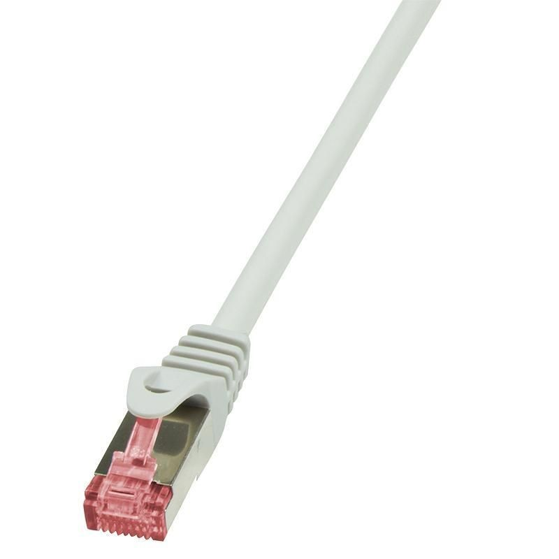 LogiLink Patchcord CQ2012S CAT.6 S/FTP 0,25m, szary