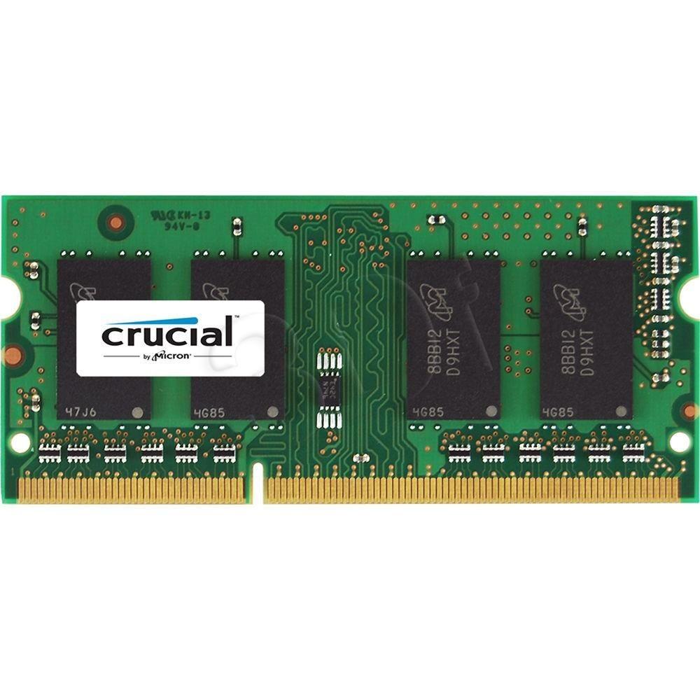 Crucial 16GB 1600MHz, DDR3, CL11, SODIMM 1.35/1.5V