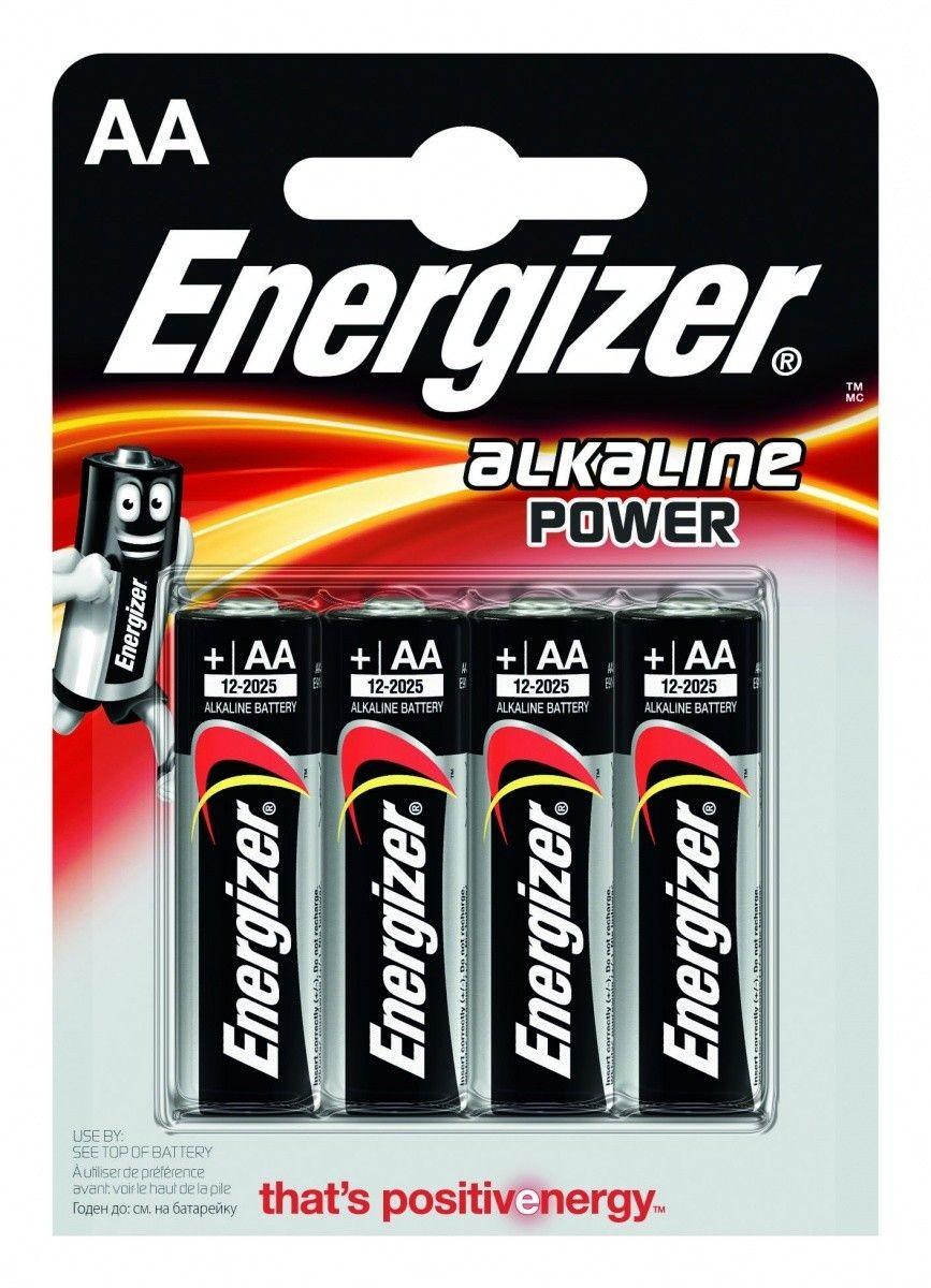 Energizer BATERIE ALKALINE POWER AA E91/ 4SZT