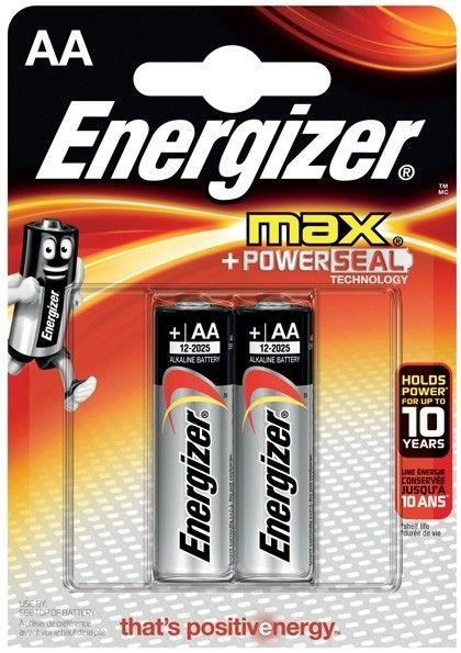 Energizer BATERIA MAX + PowerSeal AA / 2szt.
