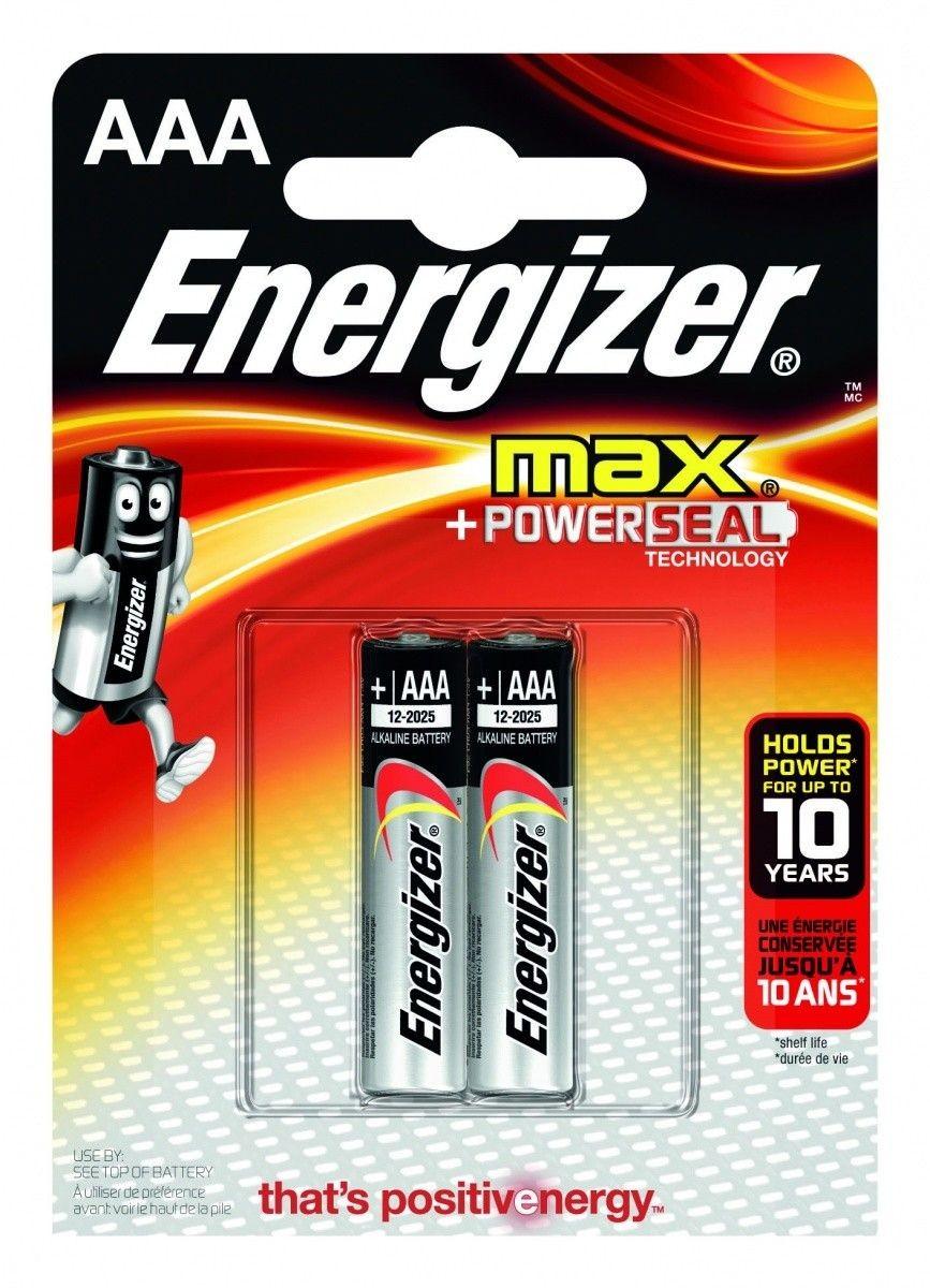 Energizer BATERIA MAX AAA E92/ 2SZT