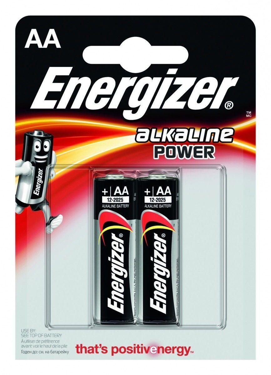 Energizer BATERIA ALAKLINE POWER AA E91/ 2SZT