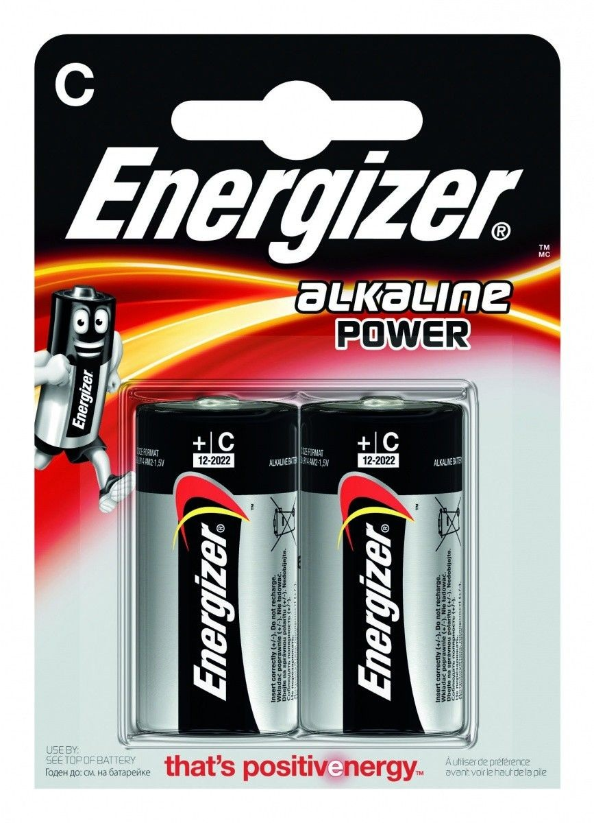 Energizer BATERIE ALKALINE POWER C E93/2 SZT