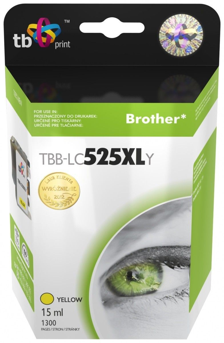 TB Print Tusz do Brother LC529/539 TBB-LC525XLY YE