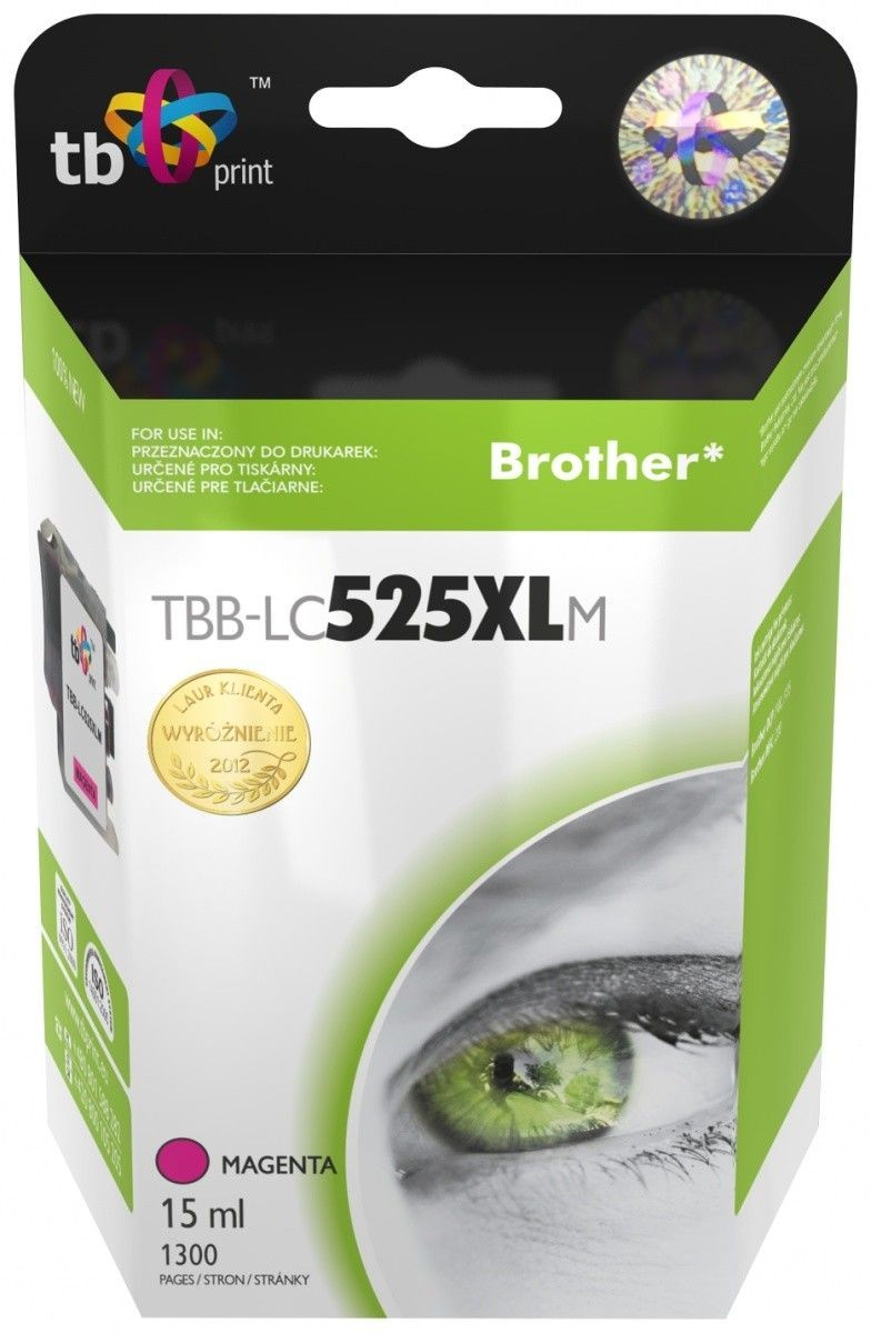 TB Print Tusz do Brother LC529/539 TBB-LC525XLM MA