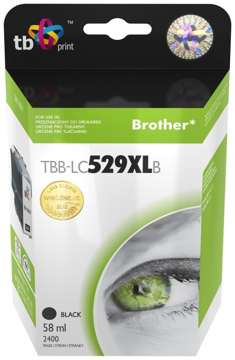 TB Print Tusz do Brother LC529/539 TBB-LC529XLB BK