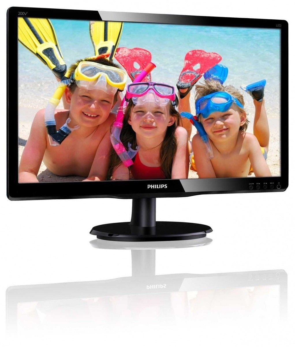 Philips Monitor 200V4QSBR/00, 19,5''; D-Sub/DCI