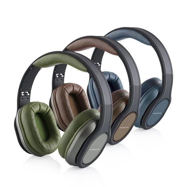 ModeCom Słuchawki nagłowne z mikrofonem MC-851 COMFORT BROWN