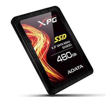 A-Data SSD XPG SX930 480GB SATA3, Speed 540/420MBs Ultra-fast pSLC, ECC, TRIM