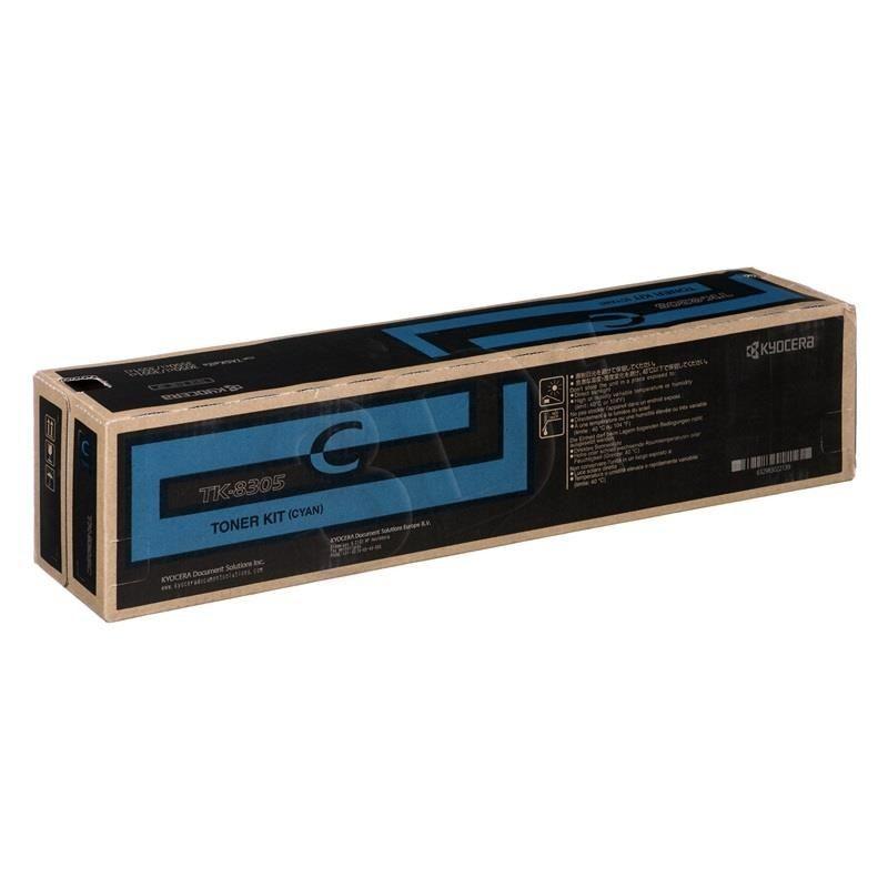 Kyocera Toner TK-8305C | 15000 str | Cyan | TASKalfa 3050ci 3550ci 3051ci