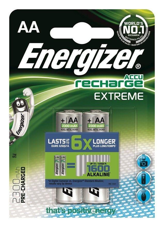 Energizer Akumulator Extreme Precharged AA HR6 /2300mAh /2szt.
