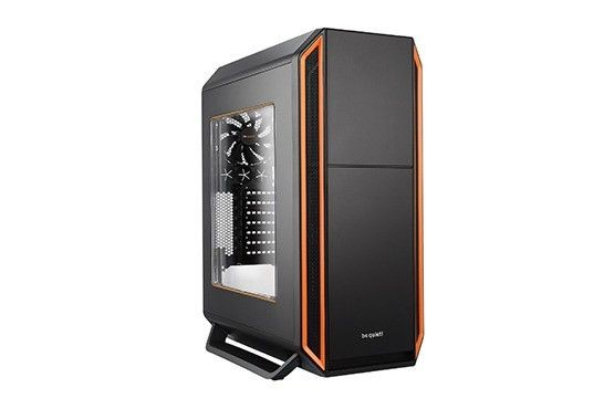 be quiet! obudowa Silent Base 800 z oknem, pomarańczowa, ATX, micro-ATX,mini-ITX