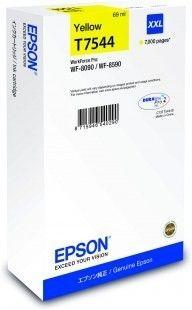 Epson Tusz T7544 yellow XXL | WF-8090/WF-8590