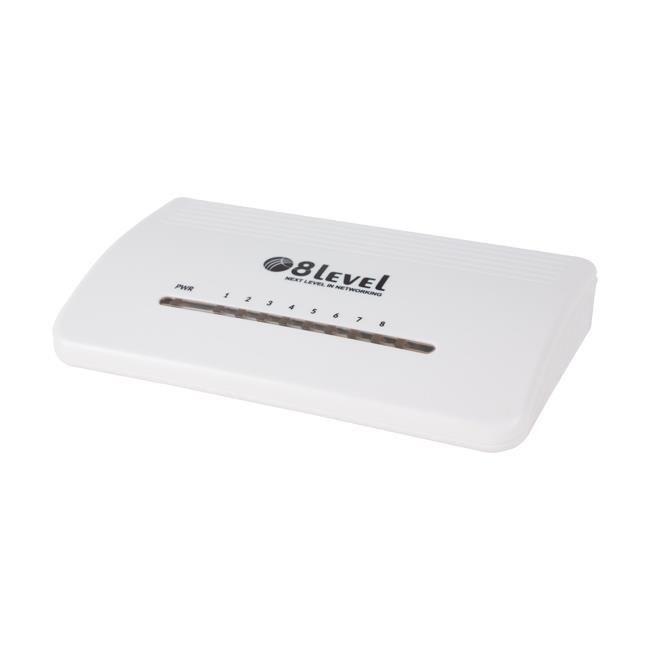 8level Switch 8level FES-8D v3 8x10/100Mbps desktop
